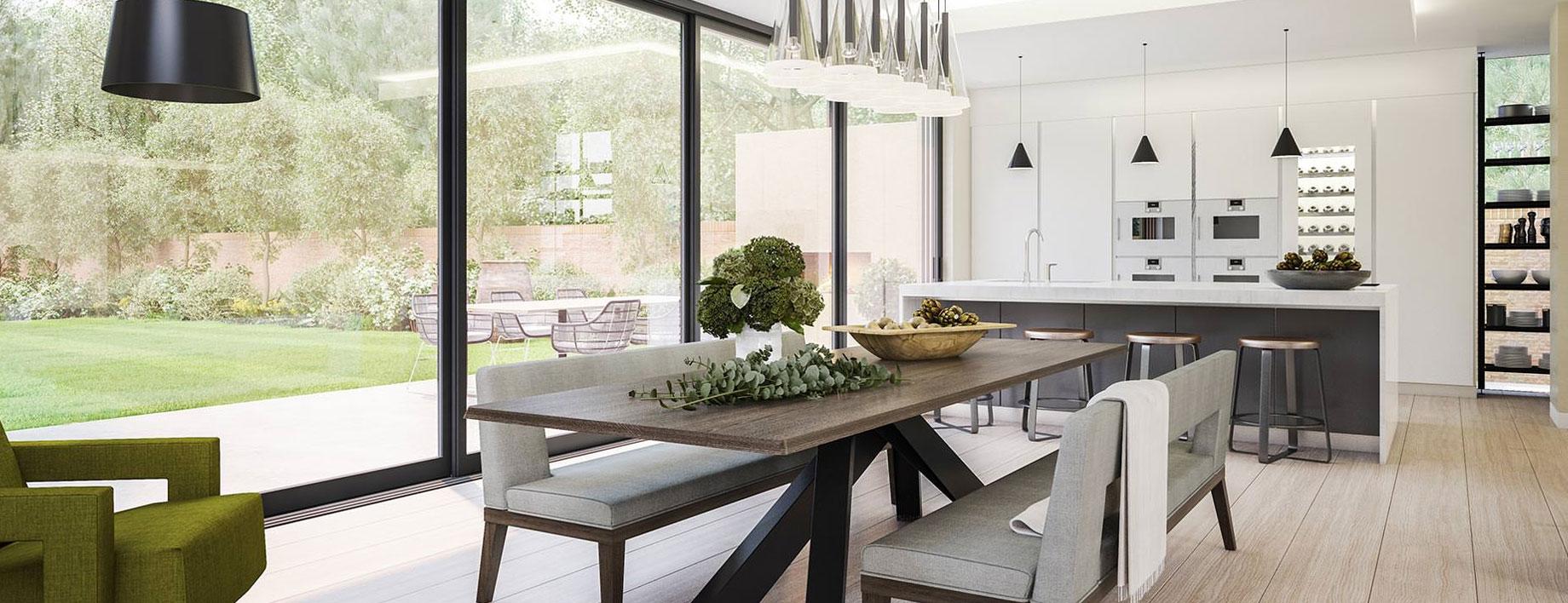 ImmobiliaRE-Veio-salone-con-cucina-e-giardino